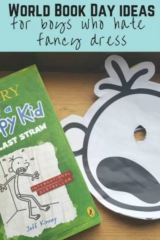 world book day costume ideas for boys