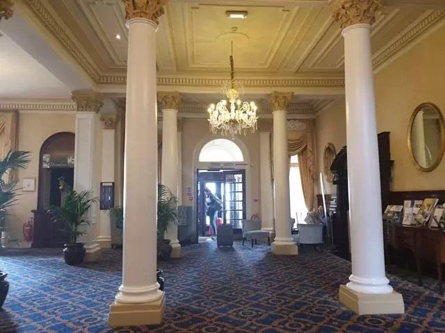 lobby of imperial hotel
