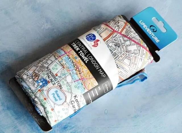 trek towel in london design