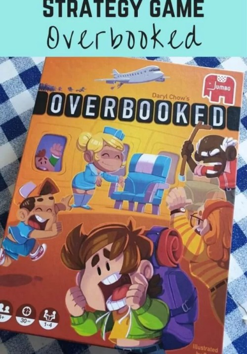 Overbooked board game review