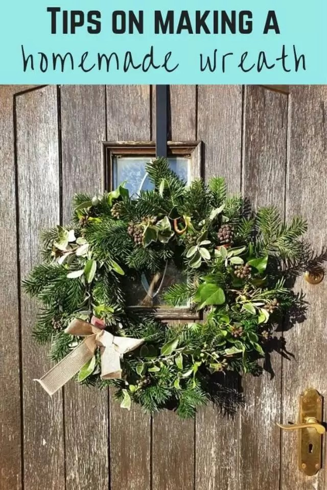 Tips on making your own wreath