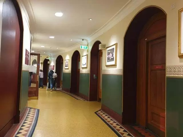 corridor at Royal Albert Hall