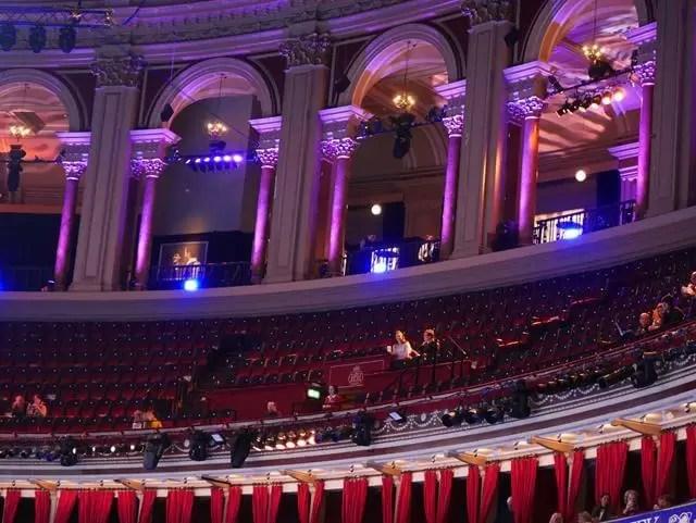 royal albert hall seating and balcony