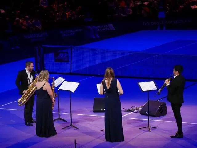 saxophone quartet at royal albert hall