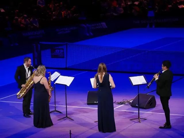saxophone quartet at royal albert hall