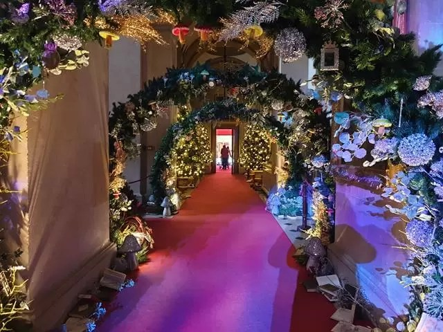 tunnel of floral cuttingsand nuat
