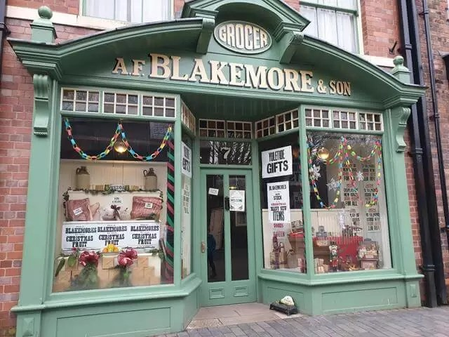 blakemore victorian grocery store