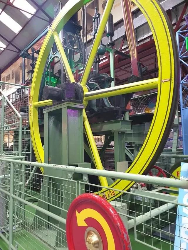 giant flywheel