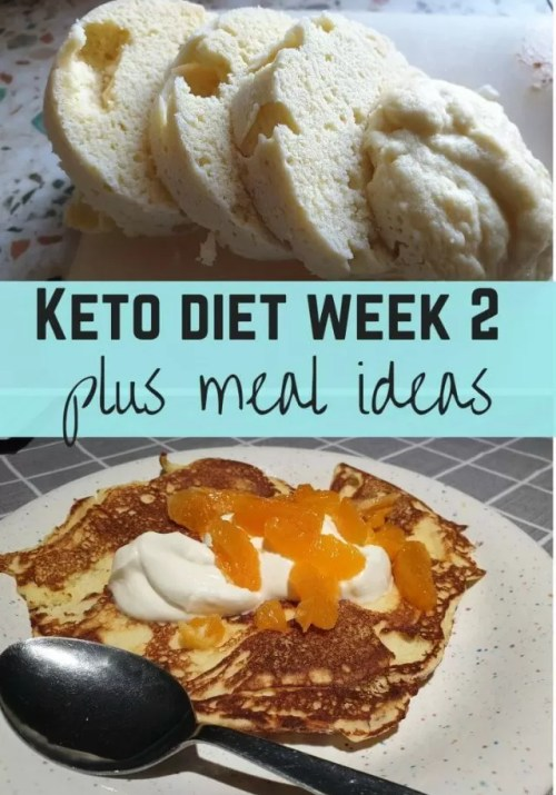 keto diet week 2 plus meal ideas