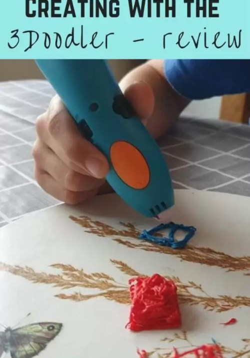 Creating with the 3Doodler