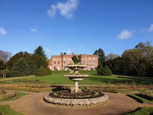 hughenden manor from the parterre