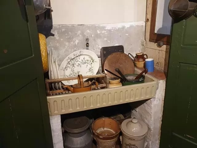 kitchen sink at museum of Cambridge