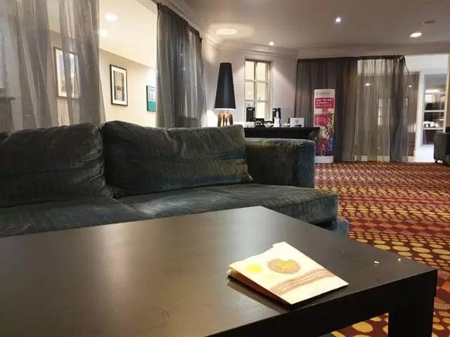 lounge at cambridge belfry