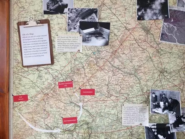 maps of wartime locations