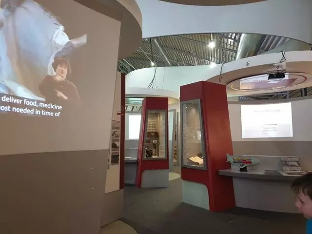 interactive displays at duxford