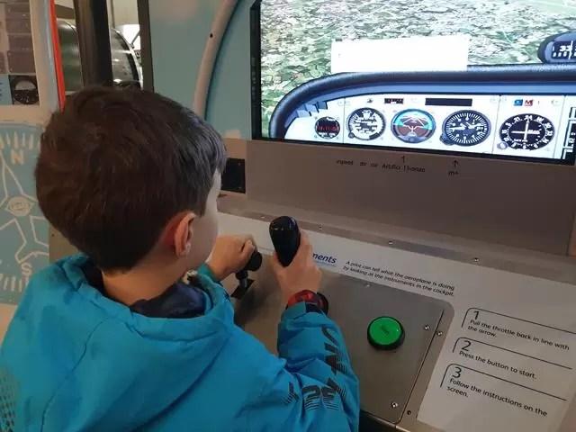 interactive flying