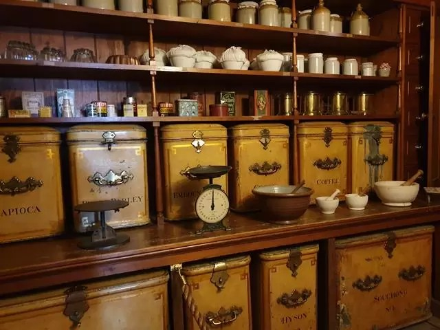 larder stores at wimpole house