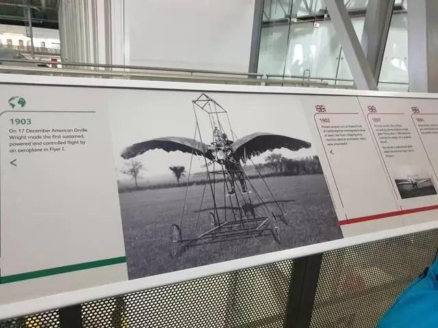 timeline of flight at IWM