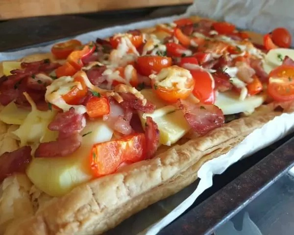 Project 52 2020 week 18 – pastry tart