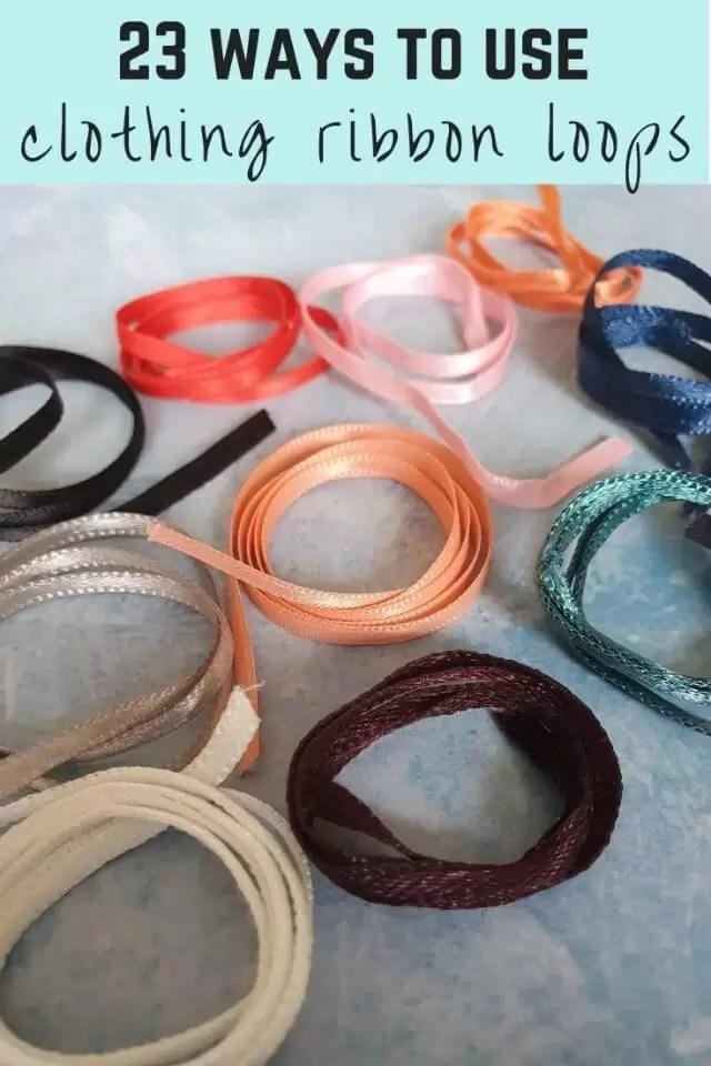 reuse ribbon loops