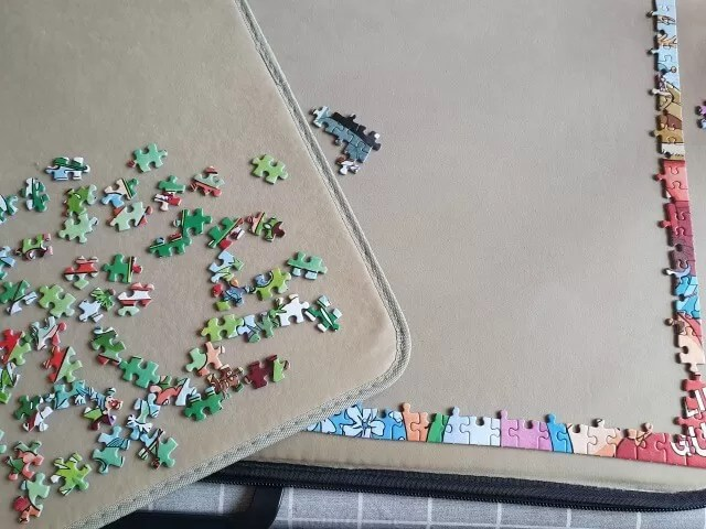 starting with a single main colour is step 1 for puzzles
