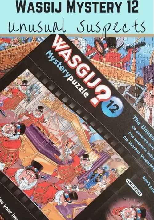Wasgij Mystery 16 Unusual Suspects