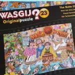 Wasgij Original  23 – The Bake Off puzzle solution