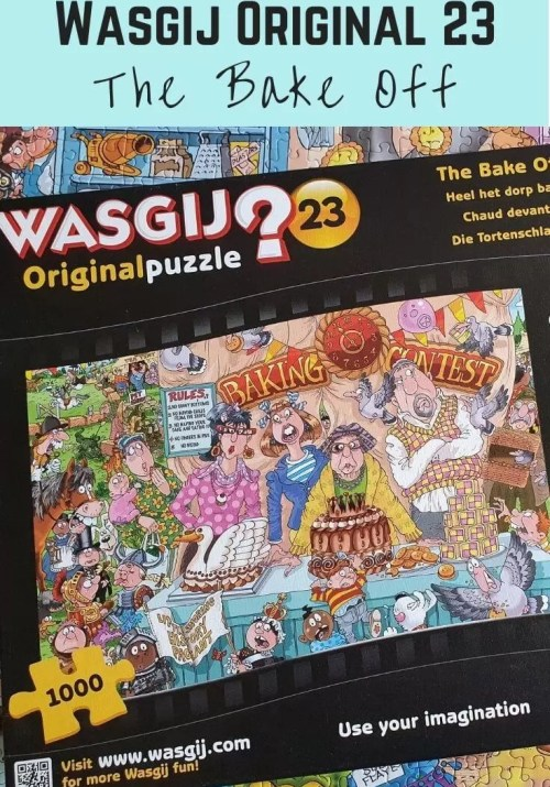 Wasgij Original 23 bake off