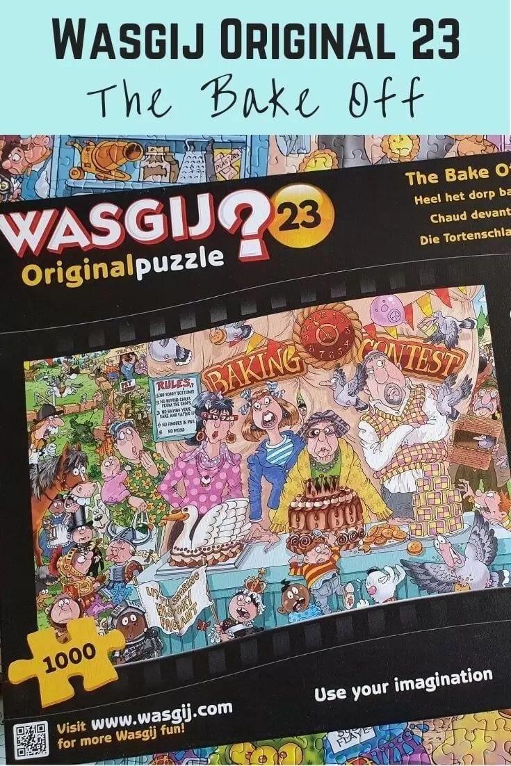 Wasgij Original 23 bake off
