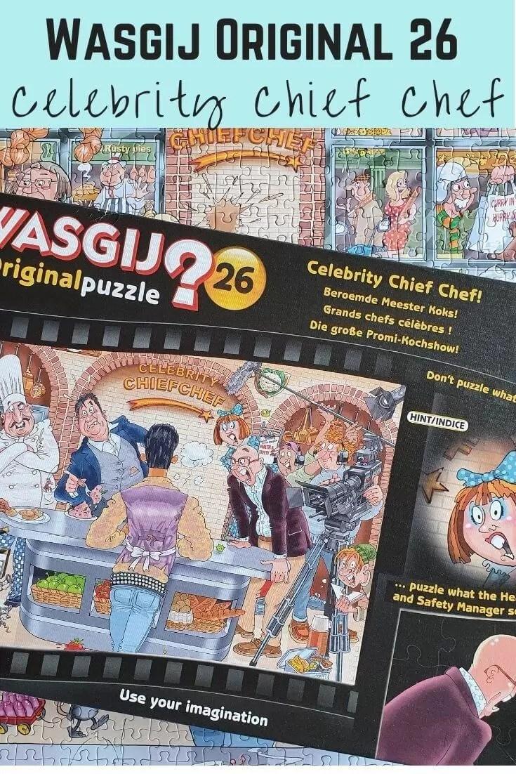Wasgij original 26 Celebrity chief chef .