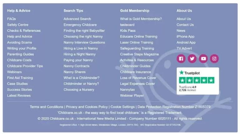 childcare links