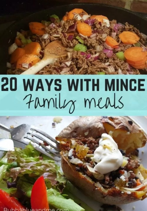20 ways with mince to make family meals