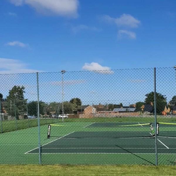 End of summer junior club tennis fun
