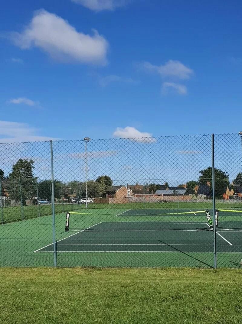 junior club tennis tournament at tenns courts