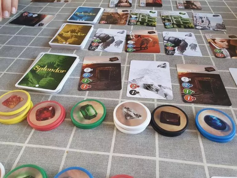 splendor game set up