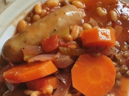 hearty sausage casserole recipe