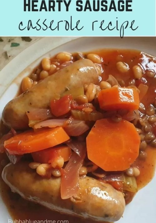 hearty sausage casserole recipe