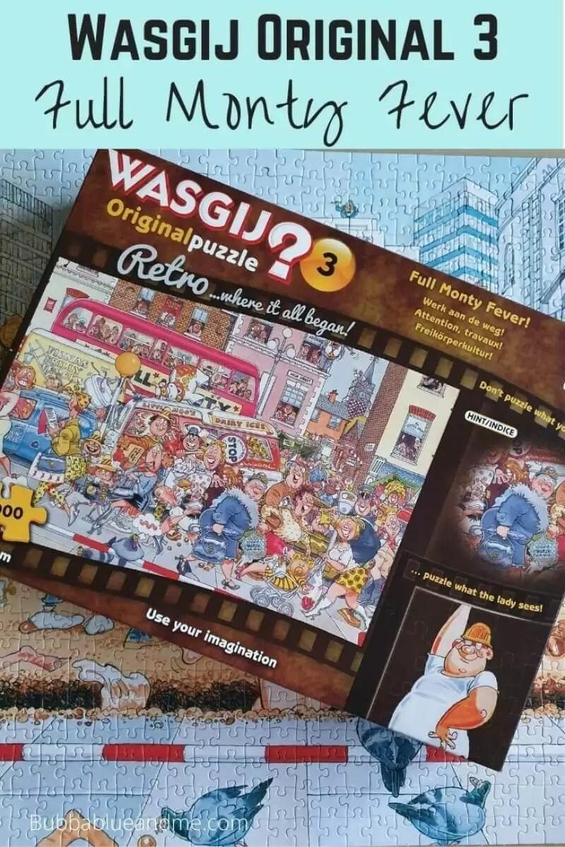 Wasgij original 3 full monty fever solution