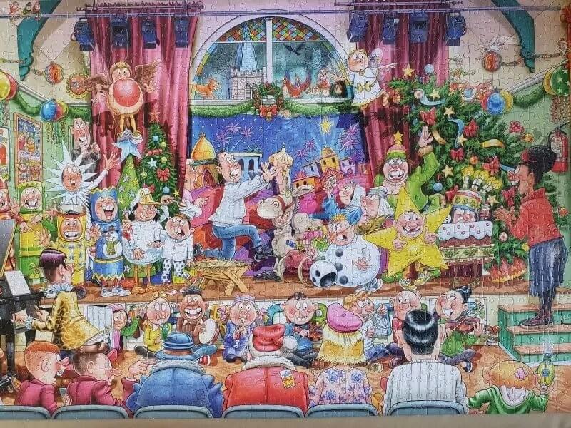 wasgij christmas 16 the christmas show