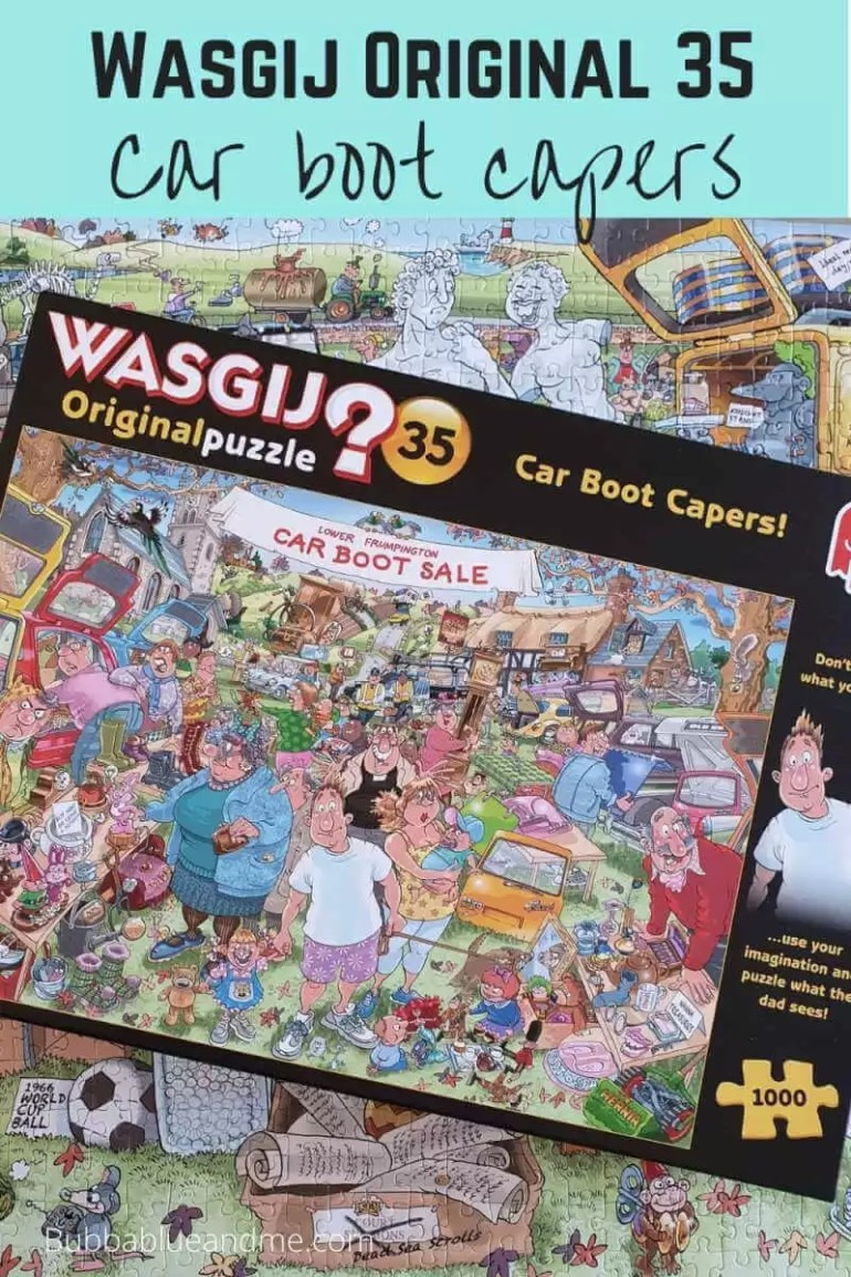 Wasgij original 35 car boot capers puzzle blog
