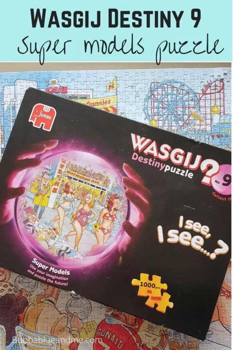 Wasgij destiny 9 super models puzzle