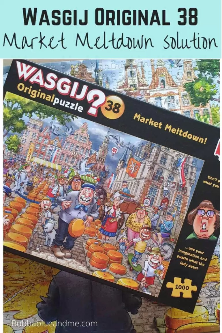 Wasgij Original 38 Market Meltdown