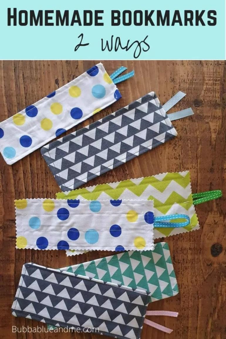 homemade bookmarks 2 ways