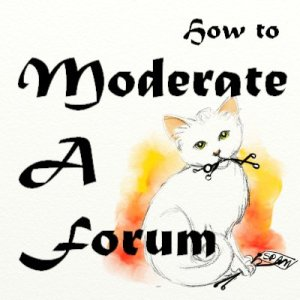 moderate a forum kitten