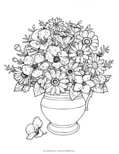 coloring-page-flowers-in-vase