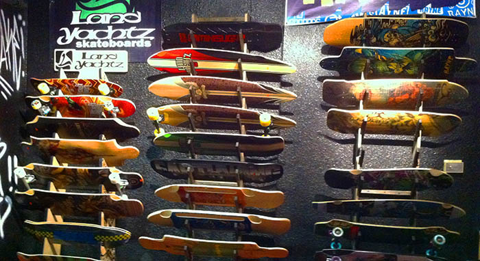 Longboards at Core Extreme Sports