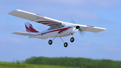 apprentice rc 4 channel trainer flying