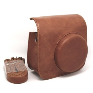 Fuji Instax Mini Brown Leather Case