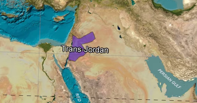 Trans-Jordan or the other side of Jordan