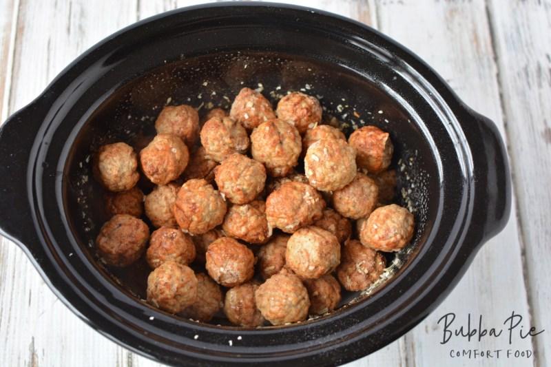 Starting to cook my Crock Pot Swedish Meatballs